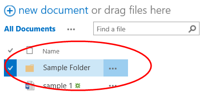 How to move files in SharePoint - Step 1