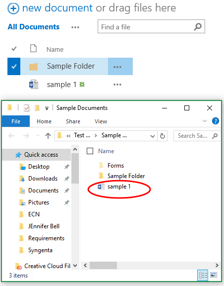 How to move files in SharePoint - Step 3