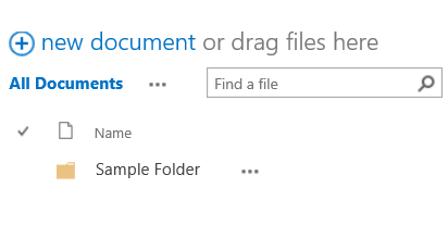 How to move files in SharePoint - Step 5