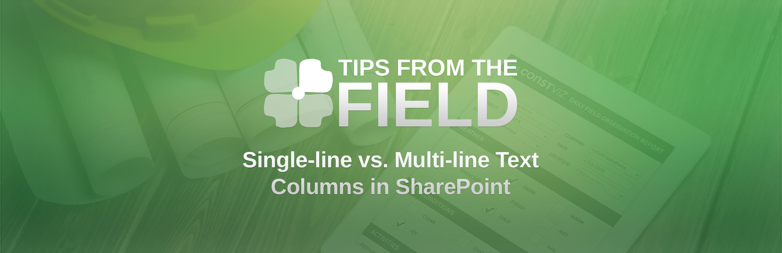 Difference between a single-line vs  multi-line text column