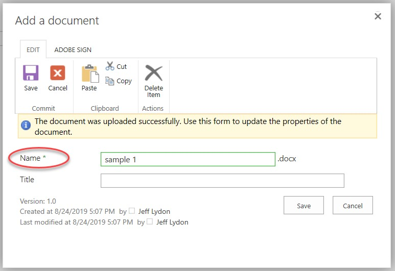 content types in Sharepoint